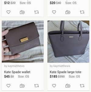 💥FLASH SALE💥 Kate Spade tote and wallet set